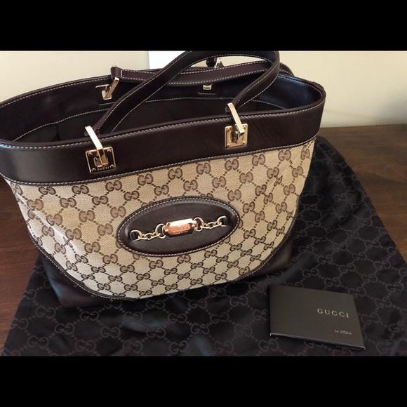 f3357a6c2618 Gucci Bags | Vintage Ssima Tote | Poshmark